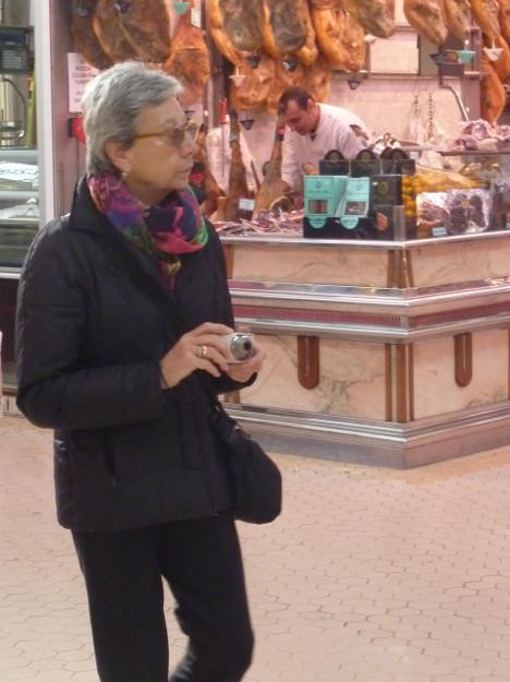 con la cámara
