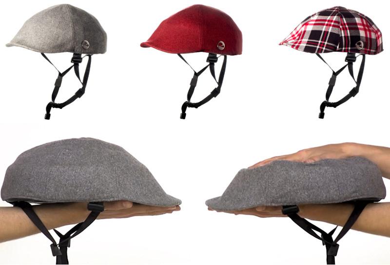 closca el casco plegable para ciclistas urbanos