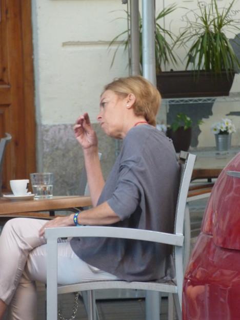 conversación de café