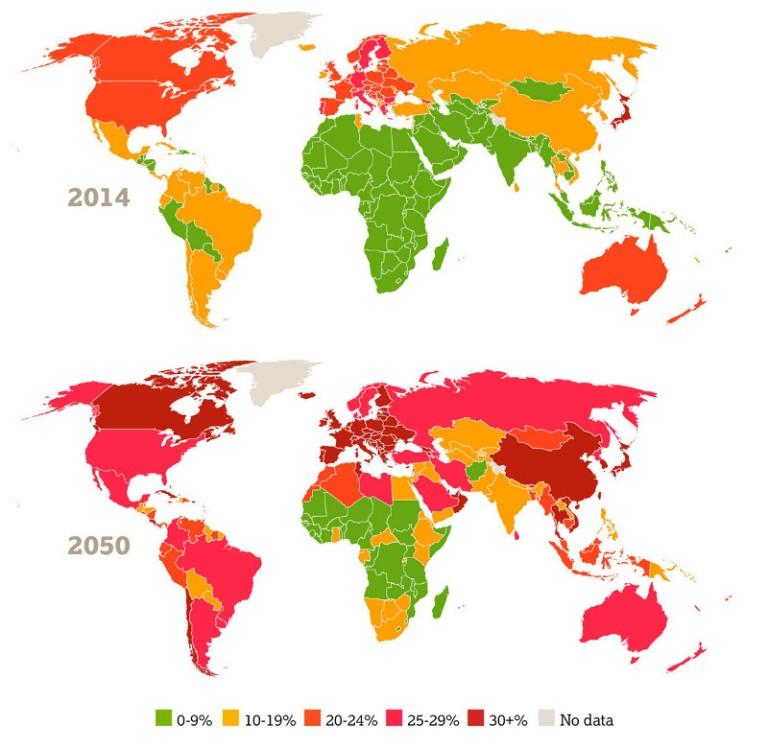 indice global de envejecimiento