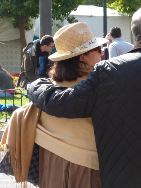 sombrero y chal